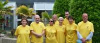 150 ans de La Turballe les élus en jaune