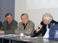 Bernard Scordia, René Leroux, Alain Robart