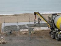 La troisième toupie pour la dalle de la plage