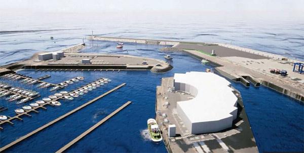 Le nouveau port de La Turballe