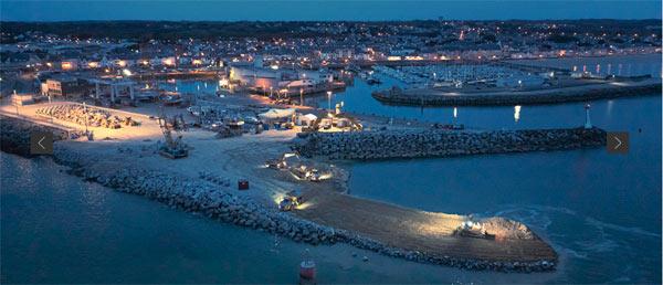 Travaux port de La Turballe photo Charier
