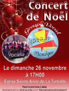 60 choristes chantent Noël à La Turballe