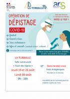 COVID : nouvelles dates de la campagne de dépistage à La Turballe