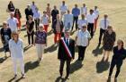 La Turballe: Didier Cadro a endossé son écharpe de maire