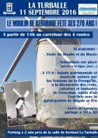 La Turballe�: Le moulin de Kerbrou� f�te ses 270 ans