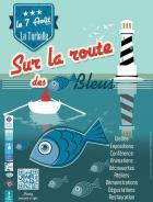 Le Pavillon France hissé sur la Route des Poissons Bleus
