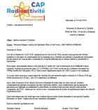 Puits de Coispéan : Le collectif Cap Radio Activité écrit au maire de La Turballe