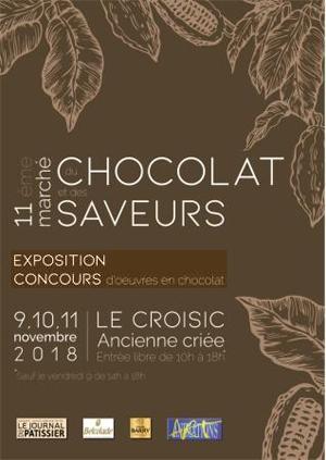 Le Croisic Marché du chocolat