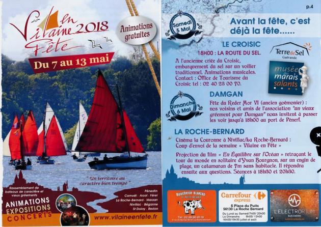 Le croisic participe à la ème édition de vilaine en fête