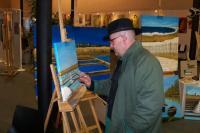 Vincent Ricordeau peint depuis 2 ans à Guérande