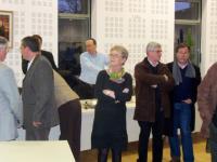 Michèle Quellard, dimanche soir en mairie.