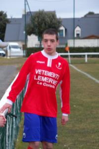 François Le Dem, premier buteur de l'équipe B.