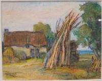 Peinture d'Eugène Jean Chapleau