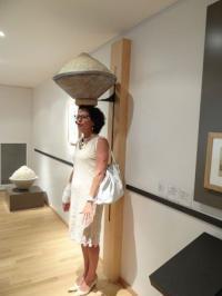 Danielle Rival maire de Batz-sur-mer inaugure le Musée des marais salants