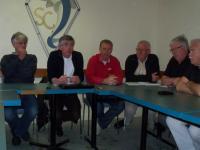 Les élus Batziens et la constitution du FC Côte sauvage.