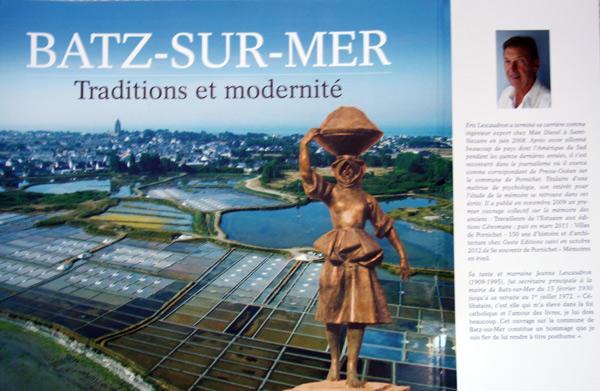 Batz sur mer a son livre sur son histoire du moyen ge nos jours - Office du tourisme batz sur mer ...