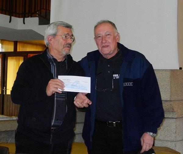 Remise chèque à a SNSM