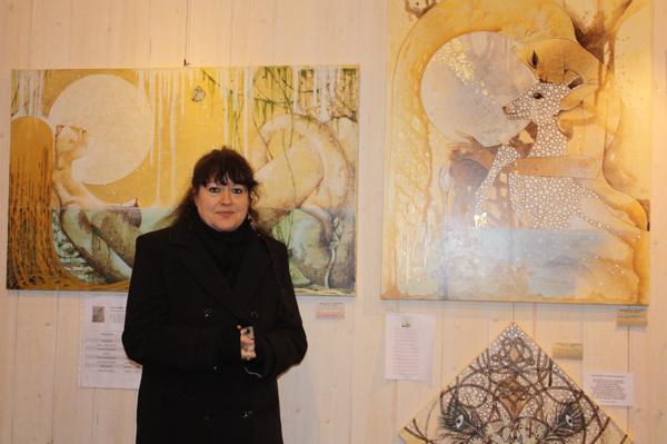 Mickélina Mancini, peintre