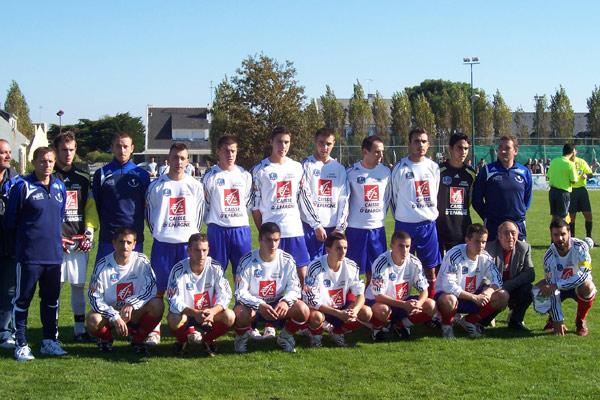 Equipe du Croisic avant 5 ème tour de  la Coupe de France 2008-2009