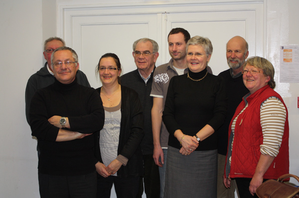 la quasi-totalité de l'association s'est réunie jeudi soir à l'Espace du Petit Bois.