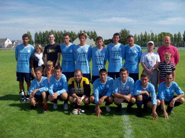 L'équipe B et ses sponsors, Harmonie Fleur et l'Insolente.