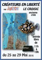 L'exposition créateurs en liberté au Croisic