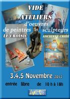 Le Croisic : Art et Animations organise un vide atelier de peintres et sculpteurs