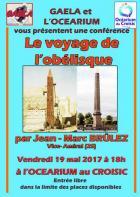 Le Croisic: Conférence sur le voyage de l'obélisque