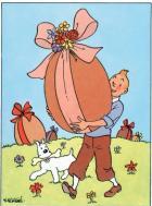 Le Croisic: les aventures de Tintin thème du 12e Marché du Chocolat et des Saveurs