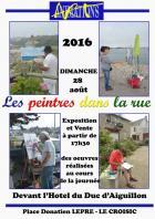 Le Croisic: Nouvelle édition des peintres dans la rue.