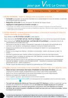 Le Croisic Municipales 2014 Françoise Thobie présente le programme de la liste «  pour que vive Le Croisic »
