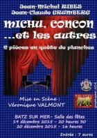Le théâtre AD HOC joue MICHU, CONCON et les Autres à BATZ SUR MER