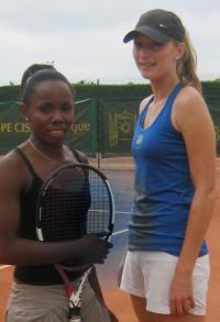 Les 2 finalistes du tournoi féminin.