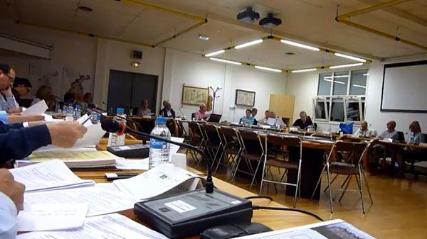 capture d'écran du film du conseil du 30 juin 2014