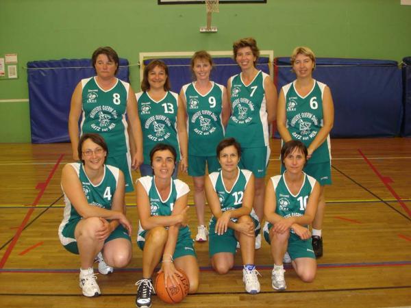 Les basketteuses loisirs.