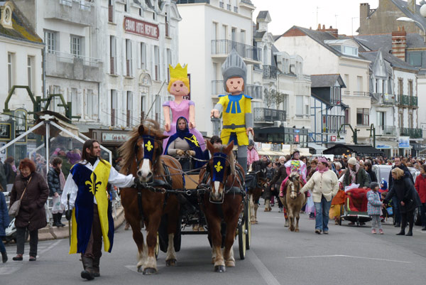 Chaque année, le carnaval pouliguennais attire environ 1 000 personnes.