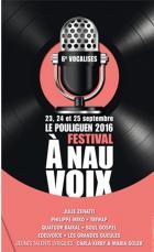 6e édition du festival A Nau Voix