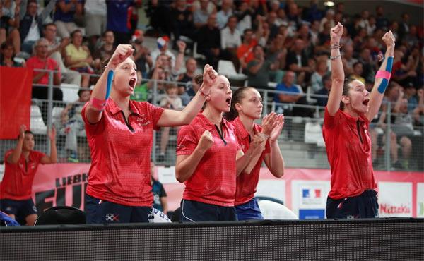 Équipe de France féminine tennis de table
