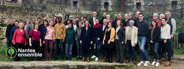 Nantes municipales la liste EELV