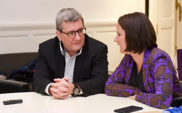 Régis Labeaume, Maire de Québec et Johanna Rolland