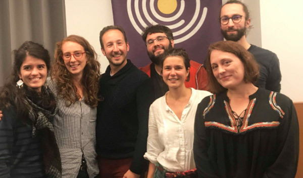 Anaïs, Margot(tête de liste), Mathieu, Romain, Morgane, Édith et Simon sontimpliqué·e·sdans le mouvement depuis plusieurs mois, notamment par le biais des enquêtes thématiques.