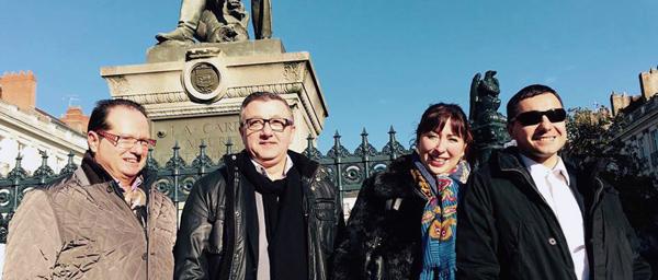 François Fédini, Philippe Sellier, Sandra Impériale Mathieu Annereau
