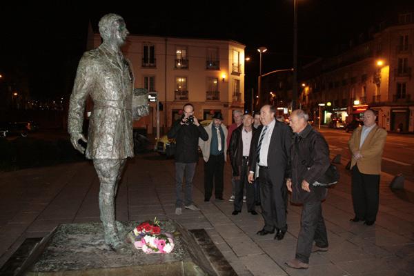Statue du Général De Gaulle Nantes