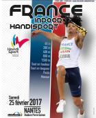 Le Championnat de France en salle d'athlétisme handisport à Nantes