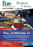 Nantes�: 3e braderie de la Biblioth�que municipale plus de 15 000 livres � 1 �