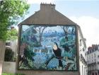 Nantes : Célébration des 20 ans de la fresque du « Toucan à bec caréné » d'Alain Thomas