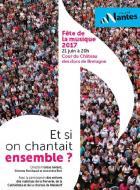 Nantes : Fête de la musique « Et si on chantait ensemble ? »