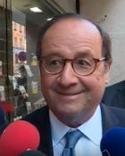 Nantes : François Hollande en dédicace à la librairie Coiffard
