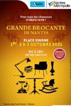 Nantes: grande brocante place Viarme