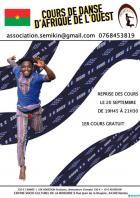 Nantes: L'association Semikin propose des cours de danse d'Afrique de l'ouest